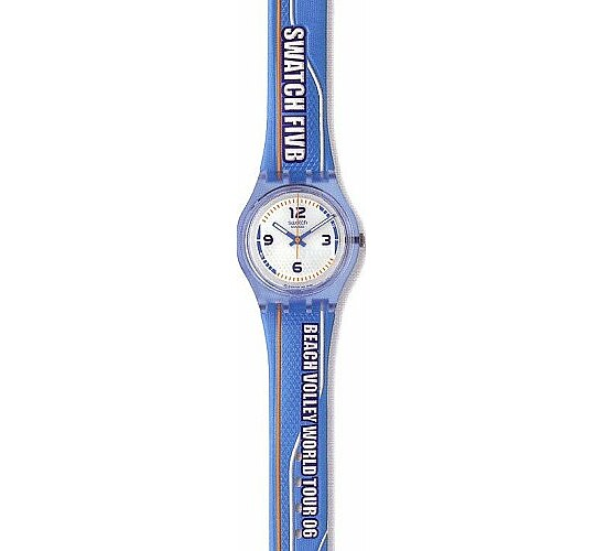 Swatch Uhr Beach Volley World Tour 06 SKN 109 Be Part of it