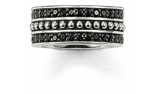 Thomas Sabo TR1879-051-11 Rebel at Heart Ring Pavé schwarz