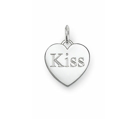 Thomas Sabo PE437-001-12 GLAM & Soul Special Addition Silber Ösen-Anhänger Kiss