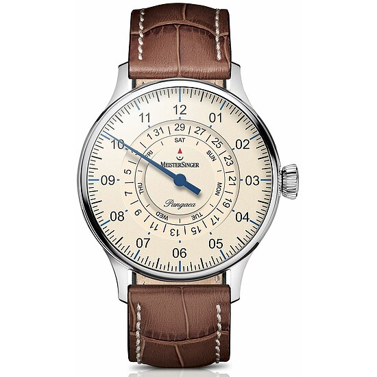 Image of Meistersinger Einzeigeruhr Automatic Pangaea DayDate PDD903