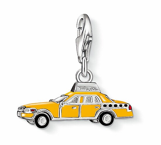 Thomas Sabo CC 1067 Anhänger CHARM CLUB Yellow Cab