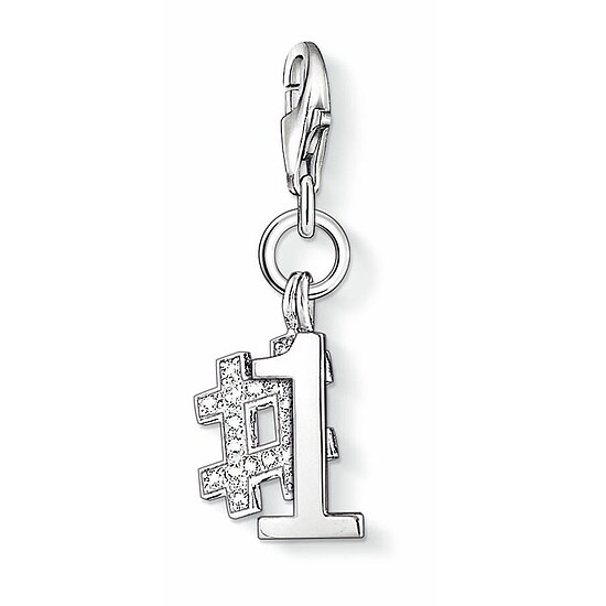 Thomas Sabo CC 1076 Anhänger Number One CHARM CLUB Nummer 1