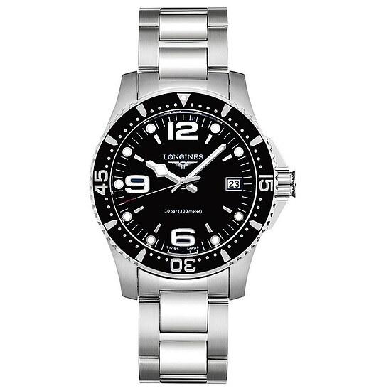 Longines Uhren L3.340.4.56.6 Damen/Herren-Armbanduhr HydroConquest