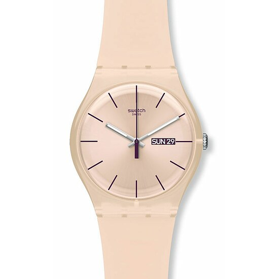 Swatch Uhr SUOT 700 New Gent Coloured Collection Rose Rebel