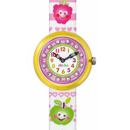 Flik Flak Uhren FBNP004 Girl Kinderuhr Cute-Size (3+) Funny Fruits