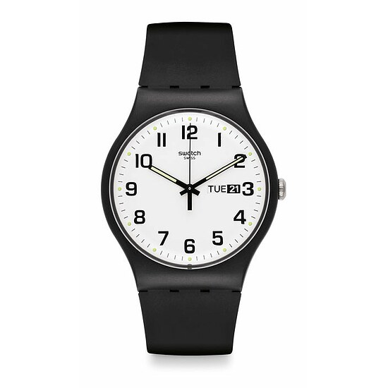 Swatch Uhr SUOB705 CLASSIC New Gent Twice Again