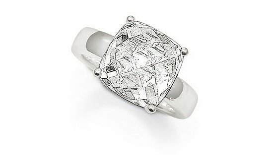Thomas Sabo TR1895-051-14 The Exotic Issue - Classic Silber Ring Kristall weiß