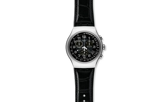Swatch YOS 440 Irony The Chrono Your Turn Black