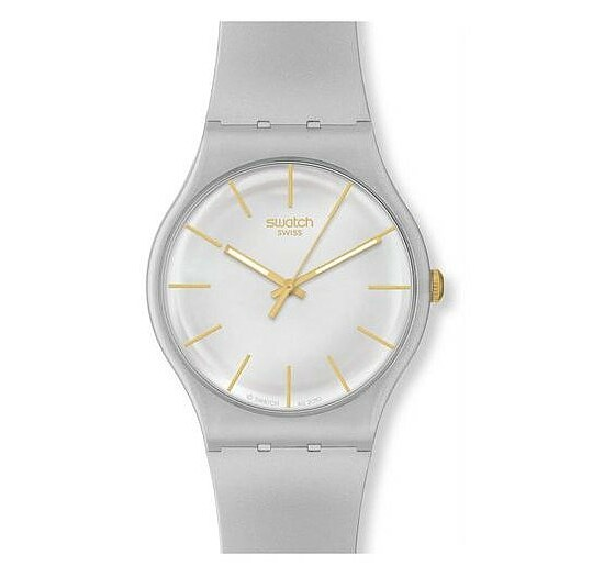 Swatch Uhr SUOZ 101 New Gent Christmas Winter Moon