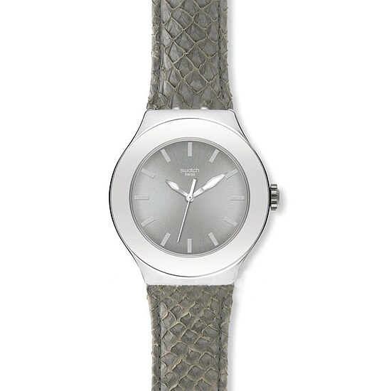 Swatch Irony Nabab YNS 120 Animal Collection Salmon Grey