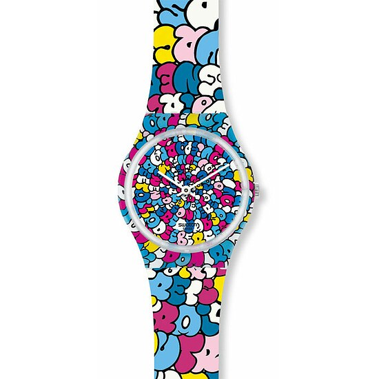 Swatch Uhr GE 232 Kidrobot® Collection Gent Swatch-Love Song