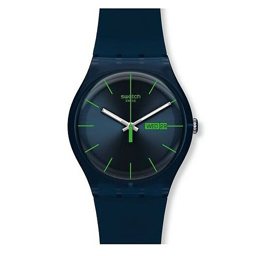 Swatch Uhr SUON 700 New Gent Blue Rebel