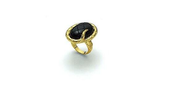 Image of Damen-Ring von Just Cavalli C 1609 Snake