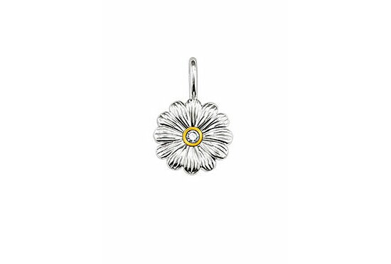 Thomas Sabo SD_PE0004-179-14 Sweet Diamonds Anhänger Blume vergoldet