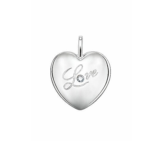 Thomas Sabo SD_PE0017-153-14 Sweet Diamonds Anhänger Herz Love graviert