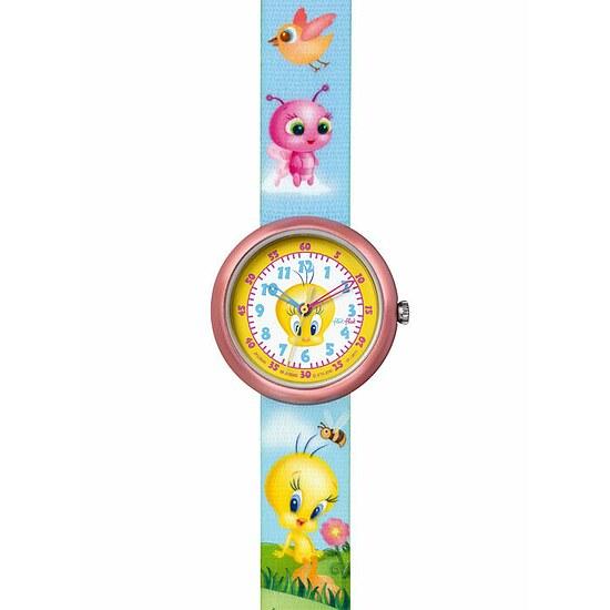 Flik Flak Uhren FLN045 Girls Tweety License Mädchenuhr  mit Tweety-Handtasche Tweety & Friends Hand Bag