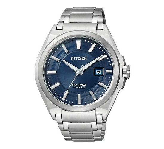 Citizen Uhren BM6930-57M Eco-Drive TI+IP Super Titanium Zifferblatt blau