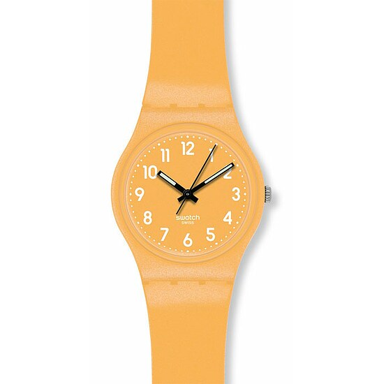 Swatch Uhr GJ 132 Gent Metalized Collection Flaky Yellow