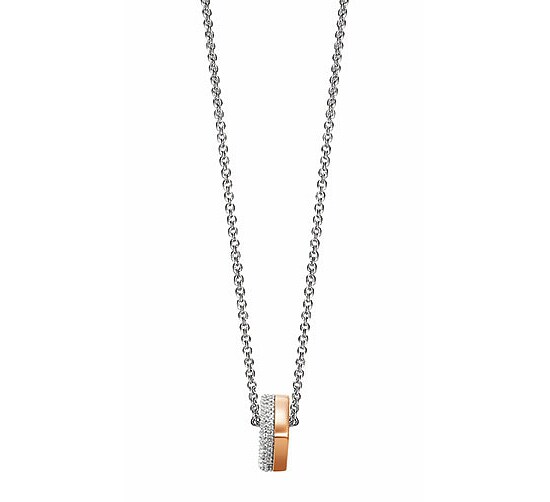 JOOP! JPNL90605B450 Jewellery Necklace Silber Collier Jane roségoldfarben
