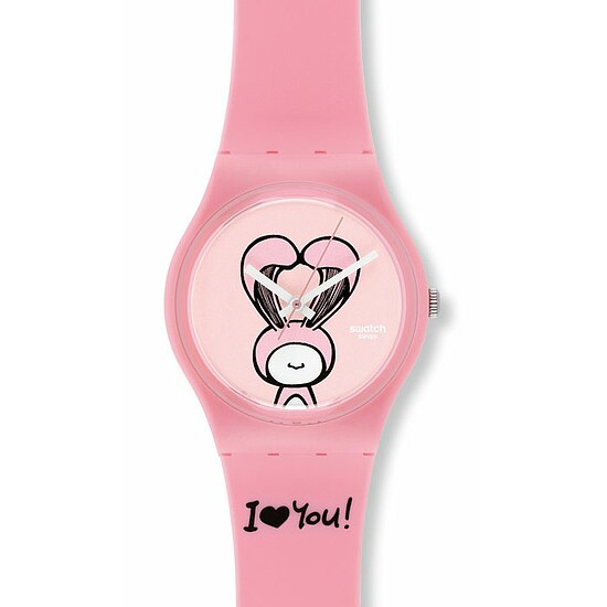 Swatch Uhr GZ 265 Gent Love Collection Lovely Mine