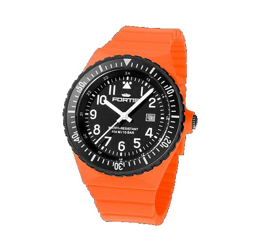 Comeback of the Legendary Flipper - Fortis Colors Ref.704 orange