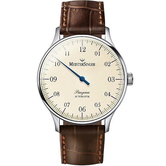 Meistersinger PM903 der Uhren-Serie Pangaea 1Z Automatik - Die Einzeigeruhr mit Automatikwerk