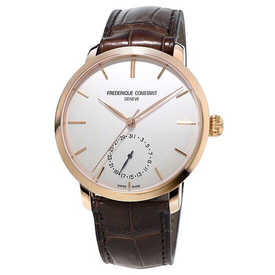 Frederique Constant Herrenuhr FC-710V4S4 der Uhrenserie Slimline Manufacutre