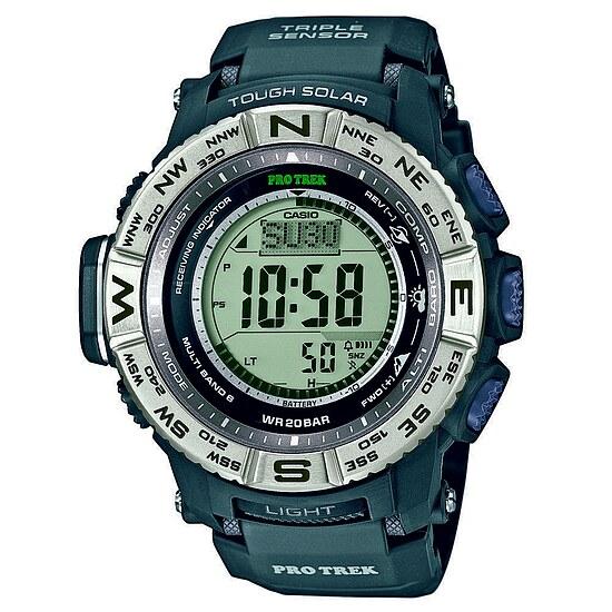 Casio Uhren Pro Trek PRW-3500-1ER bei Uhrendirect - Markenuhren