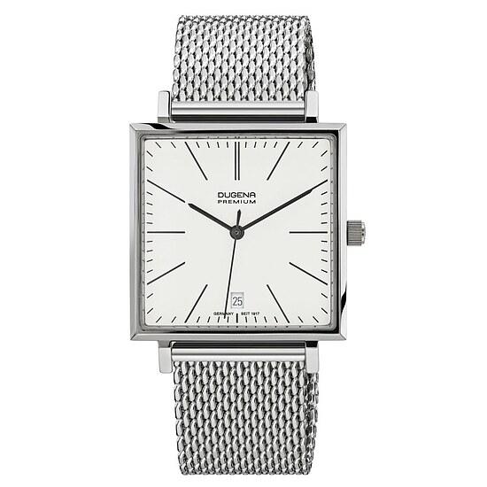 Dugena Premium Herrenuhr 7090140 der Uhrenserie Dessau Carree bei Uhrendirect - Markenuhren