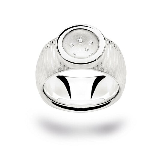 Bastian 12143 Inverun Silber Ring Diamanten