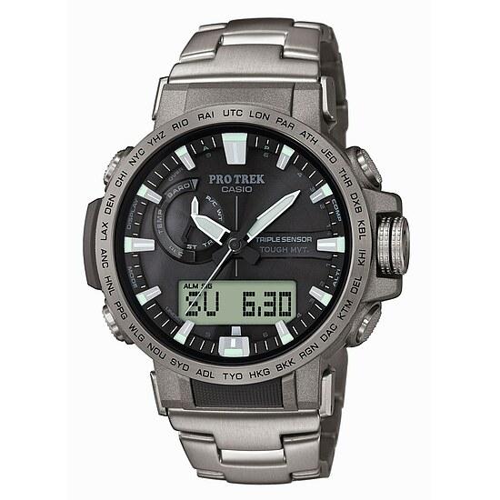 Uhren Pro Trek PRW-60T-7AER Pale Rosse
