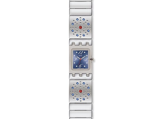 Swatch SUBM 117 G Uhr Artful Ways Square Sparkling Miracles
