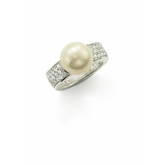 Thomas Sabo TR1848-054-14 Seasonal Perle Ring pavé weiß