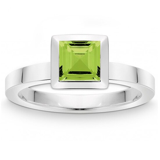 Quinn 021 810647 Colors Silber Ring mit Peridot