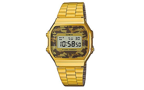 Casio Uhren Retro Collection A168WEGC-5EF