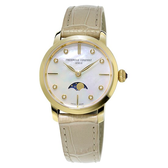 Image of Damenuhr von Frederique Constant FC-206MPWD1S5 der Uhren-Serie Slimline