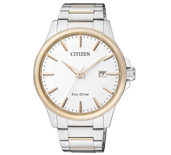 Citizen Uhren BM7294-51A Eco-Drive Herren Sports bicolor