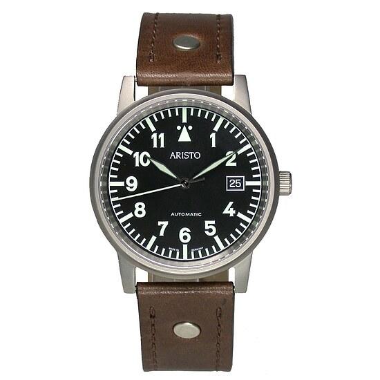Image of Uhren Fliegeruhr Modell Beobachter Aristo Automatik von Aristo 5H84