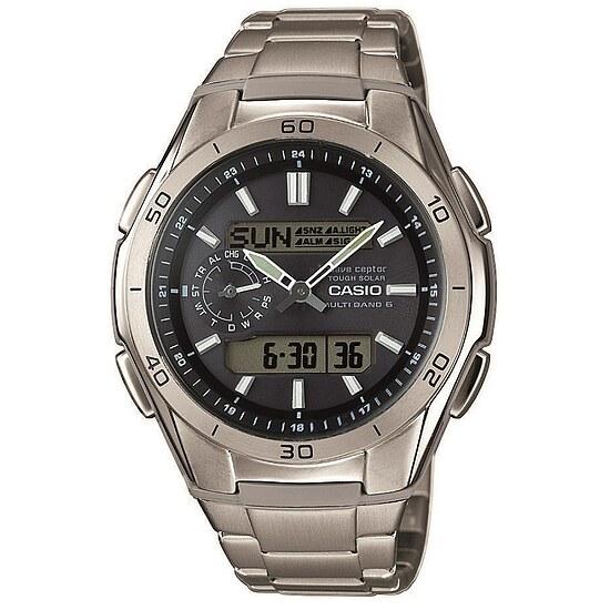 Uhren Funkuhr WVA-M650TD-1AER
