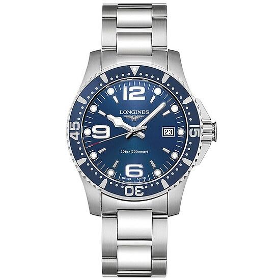 Longines L3.740.4.96.6 Uhren Herren-Armbanduhr HydroConquest