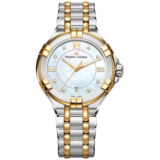 Damenuhr AI1006PVY13171-1 der Uhrenserie Aikon