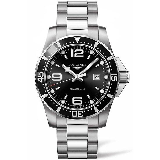 Longines L3.840.4.56.6 Uhren Herren-Armbanduhr HydroConquest