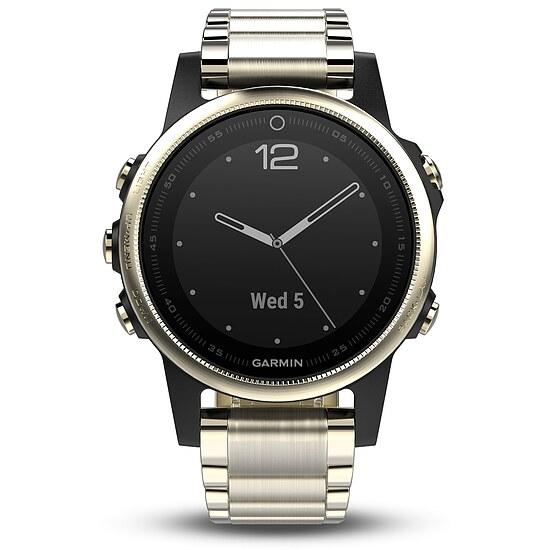Garmin fenix 5S Sapphire mit Metallarmband Ref. 010-01685-15 bei Uhrendirect - Markenuhren