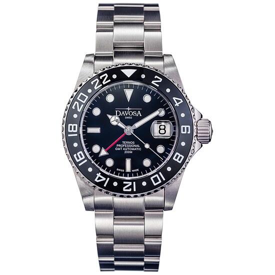 Herrenuhr von Taucher Automatik Ternos Professional GMT 16157150