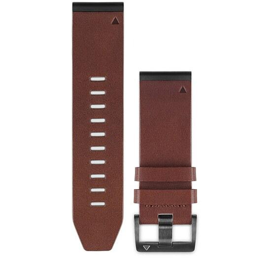 Garmin 010-12517-04 Quick Fit Lederarmband für fenix 5X bei Uhrendirect - Markenuhren