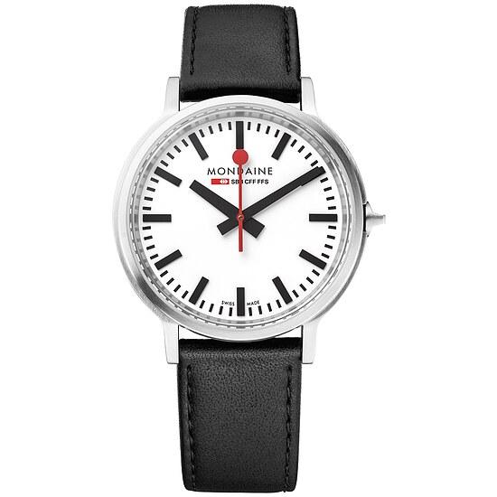 Armband-Uhr stop2go von Mondaine MST.4101B.LB BackLight bei Uhrendirect - Markenuhren