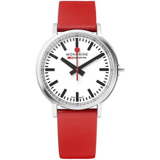 Armband-Uhr stop2go von Mondaine MST.4101B.LC BackLight bei Uhrendirect - Markenuhren