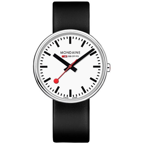Mondaine Bahnhofsuhr MSX3511BLB Mini Gaint BackLight bei Uhrendirect - Markenuhren