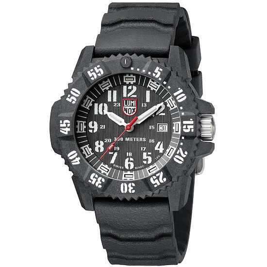 Luminox MASTER CARBON SEAL 3800 XS.3801 der Uhren-Serie MASTER CARBON SEAL 3800 Series - ultimative Beleuchtung