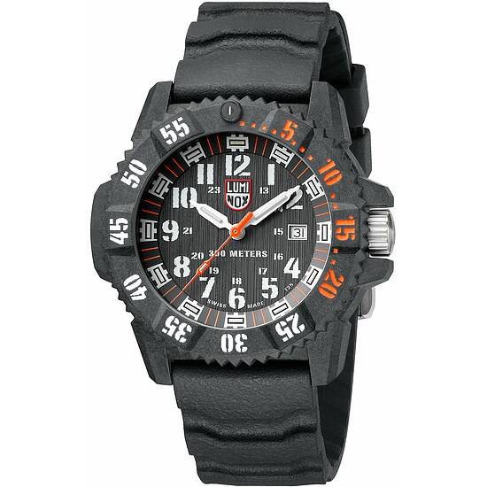 Luminox MASTER CARBON SEAL 3800 XS.3801.C.SET der Uhren-Serie MASTER CARBON SEAL 3800 Series - ultimative Beleuchtung